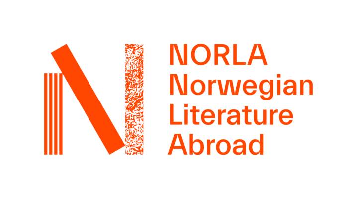 Norla horizontal four lines orange rgb