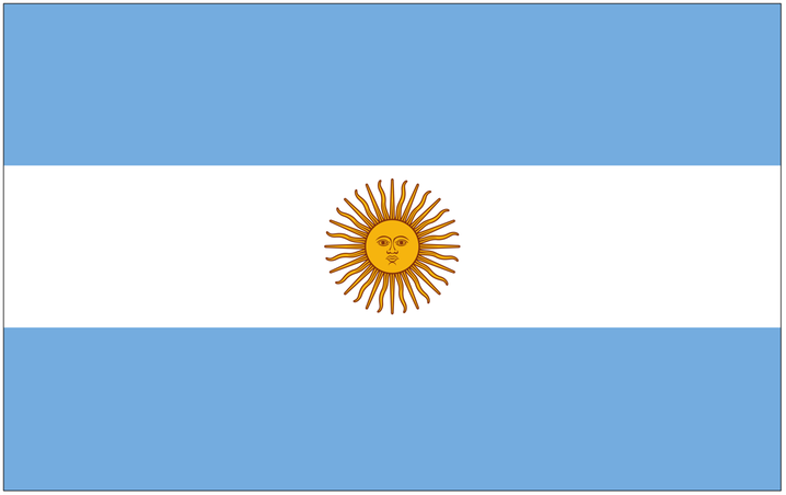 Argentina lined