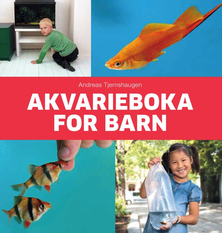 Akvarieboka for barn omslag