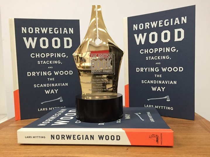 2016 british book industry award mytting norwegian wood